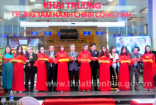Ribbon-cutting ceremony of Thua Thien Hue Provincial Public Administration Center