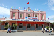 Hue railway station (Photo: Visit.vn)