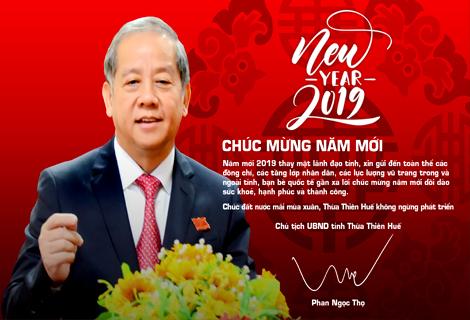 Chủ tịch UBND tỉnh Thừa Thiên Huế Phan Ngọc Thọ