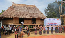 Traditional festivals are held in Guol house, which contributed to enhancing spiritual and material life of ethnic minority groups