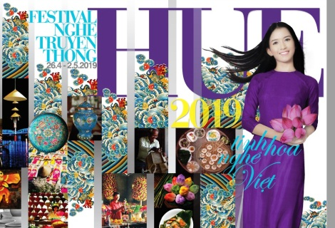 Hue Traditional Craft Festival 2019 poster