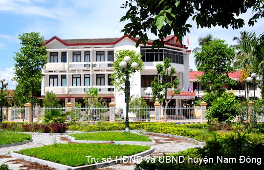 Trụ sở UBND huyện Nam Đông