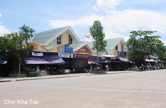 Chợ Khe Tre, huyện Nam Đông