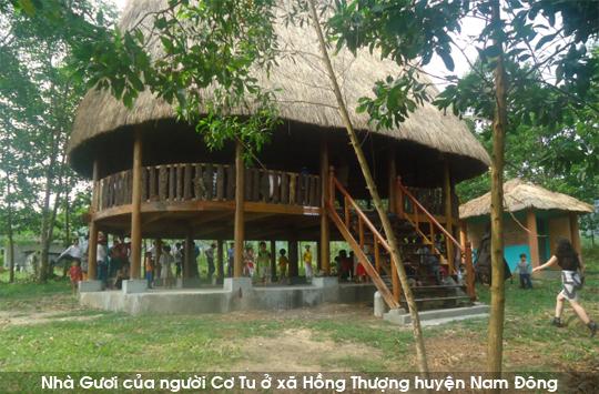 Nhà Guol tại huyện Nam Đông