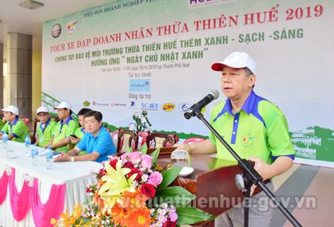 Chủ tịch UBND tỉnh Phan Ngọc Thọ phát biểu tại lễ khai mạc