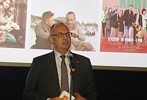 Ông Kim Hojlund Christensen, Đại sứ Đan Mạch tại Việt Nam phát biểu khai mạc tuần lễ phim Đan Mạch