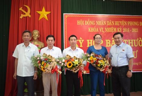 Phong điền Bầu Bổ Sung Pho Chủ Tịch Ubnd Huyện Thuathienhue Gov Vn Vi Vn