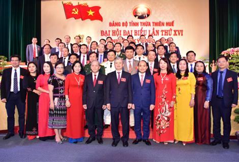 Ra mắt Ban Chấp hành Đảng bộ tỉnh khóa XVI