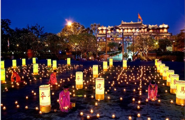 An activity held within Hue Festival (Photo: internet)