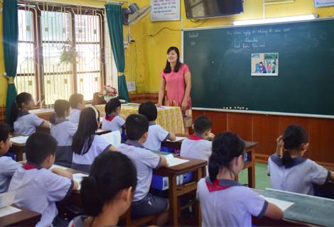 Ảnh minh họa (Tại trường Tiểu học Vĩnh Ninh)