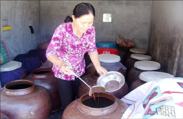 Tan Thanh fish sauce is made in traditional method (Photo: internet)