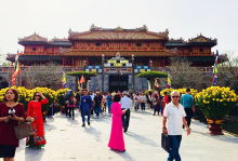 Hue relics are open for free on the occasion of lunar new year 2021