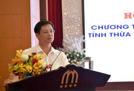 Phó Chủ tịch UBND tỉnh Nguyễn Thanh Bình phát biểu chỉ đạo tại Hội nghị