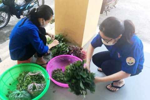 Tuổi trẻ Thừa Thiên Huế hỗ trợ công tác hậu cần tại khu vực cách ly tập trung