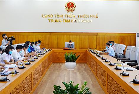 Tại điểm cầu tỉnh Thừa Thiên Huế