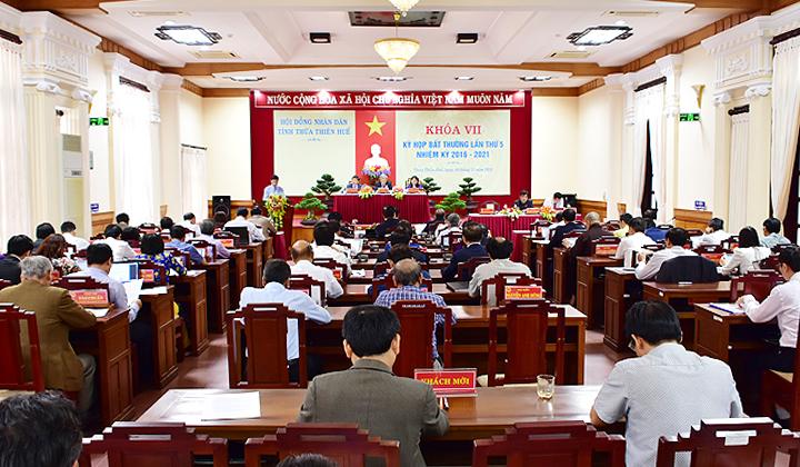 Hình ảnh: Kỳ họp bất thường, HĐND tỉnh Thừa Thiên Huế: Thông qua 10 nghị quyết quan trọng số 2